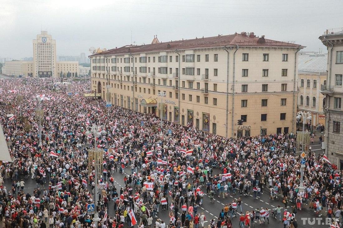 Вы все еще думаете, что протесты в Минске пошли на спад?