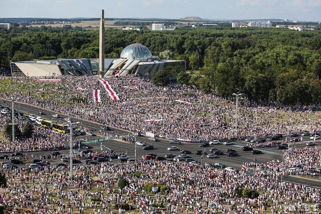 В Беларуси прошли самые масштабные протесты за всю историю независимости