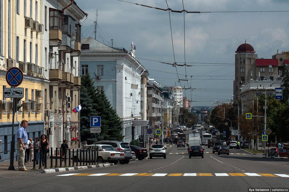 Хороший Белгород сделал больно автомобилистам