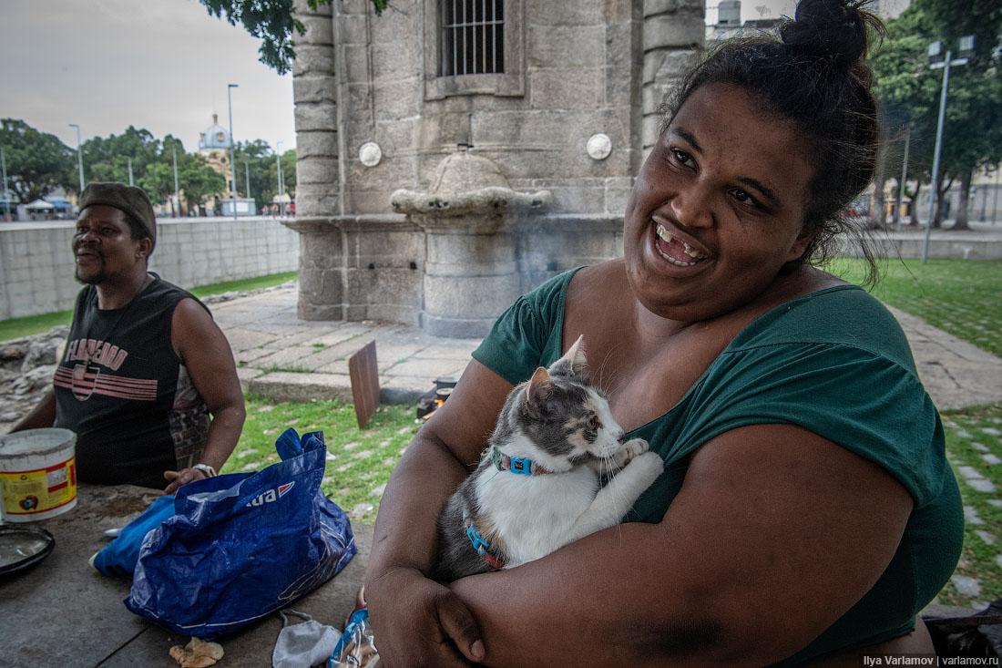 Рио-де-Жанейро: бездомные, бразильский модернизм и нескоростной трамвай
