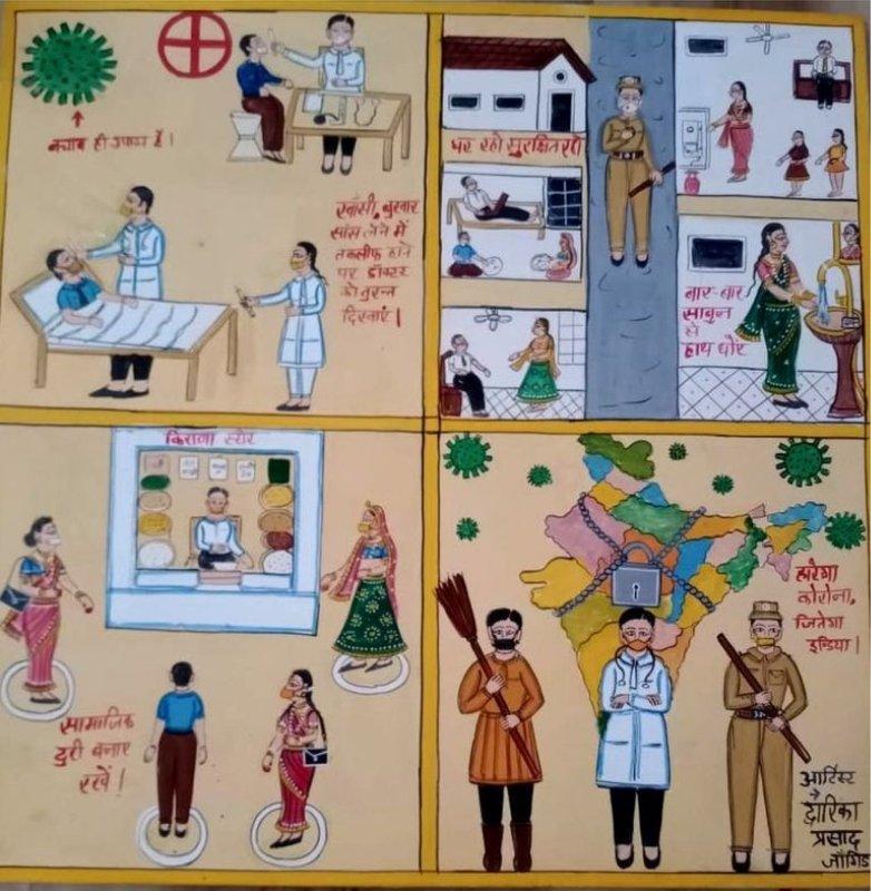 Лубок против коронавируса: как уберечь неграмотных от заражения