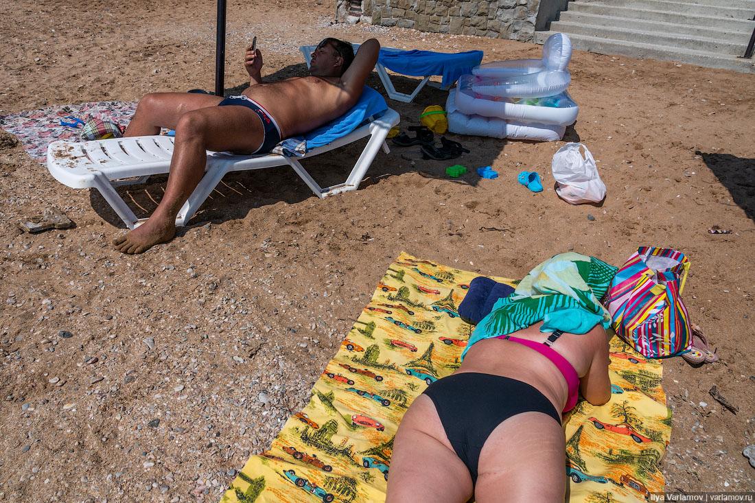 Курортный сезон в Крыму. Феодосия: как из рая сделали гадюшник