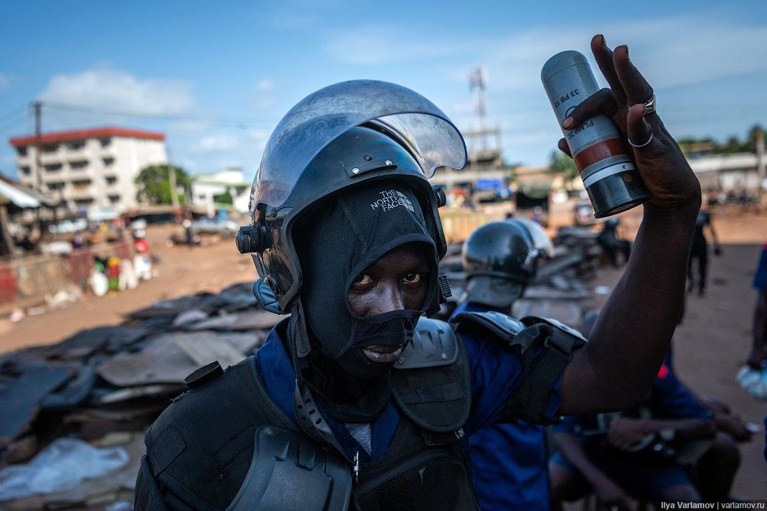 Гвинея: малинка, африканская Чита и гражданская война