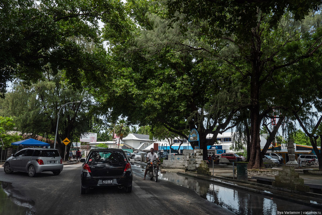 Кирибати: похоже, что я застрял на островах