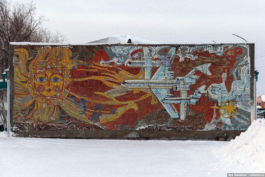 Только крокодилы спасут советские мозаики от мудаков