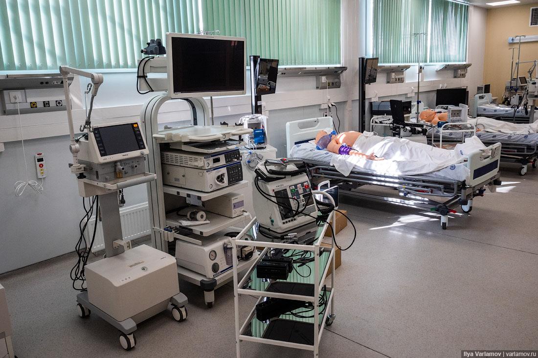 Новая коронавирусная больница в Москве