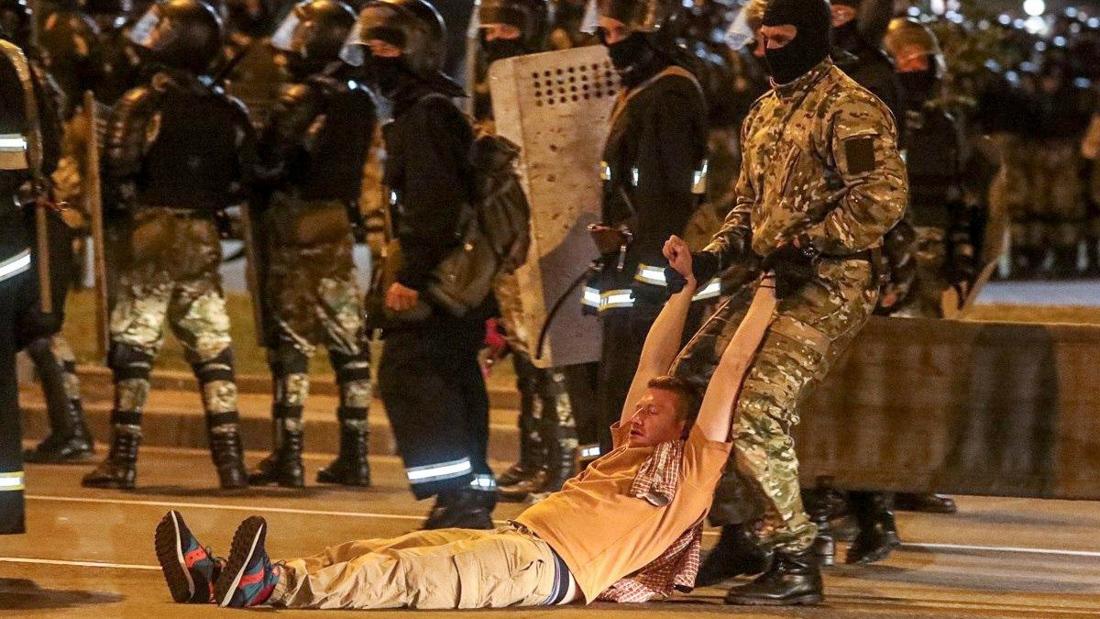 Садисты на службе белорусского государства