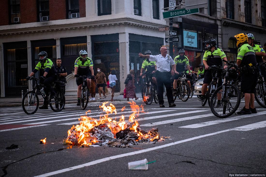 Нью-Йорк против полиции