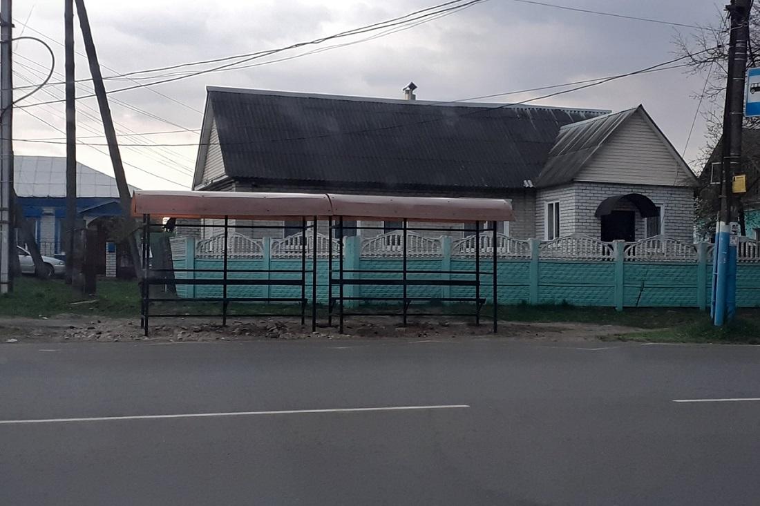Брянск: как не должна выглядеть современная остановка