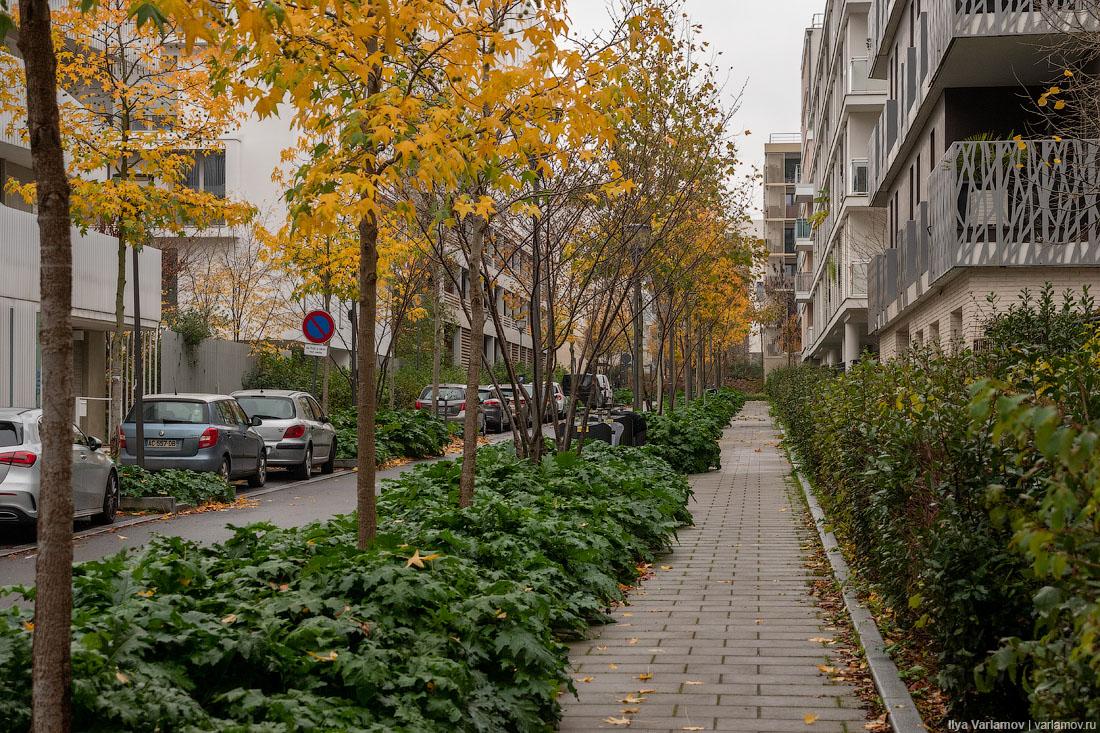 Новые пригороды Парижа. Хотели бы так жить?