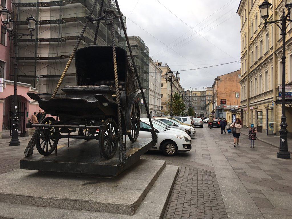 А у Петербурга точно есть администрация?