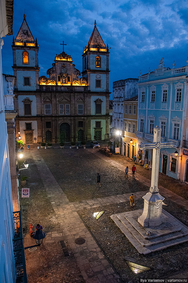 Салвадор: центр туризма и первая столица колониальной Бразилии