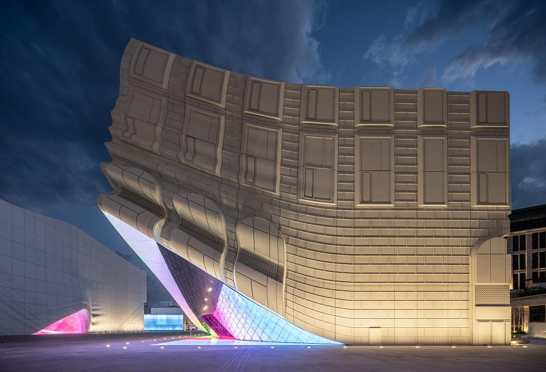 Архитектура гостеприимства: необычный комплекс возле аэропорта Сеула