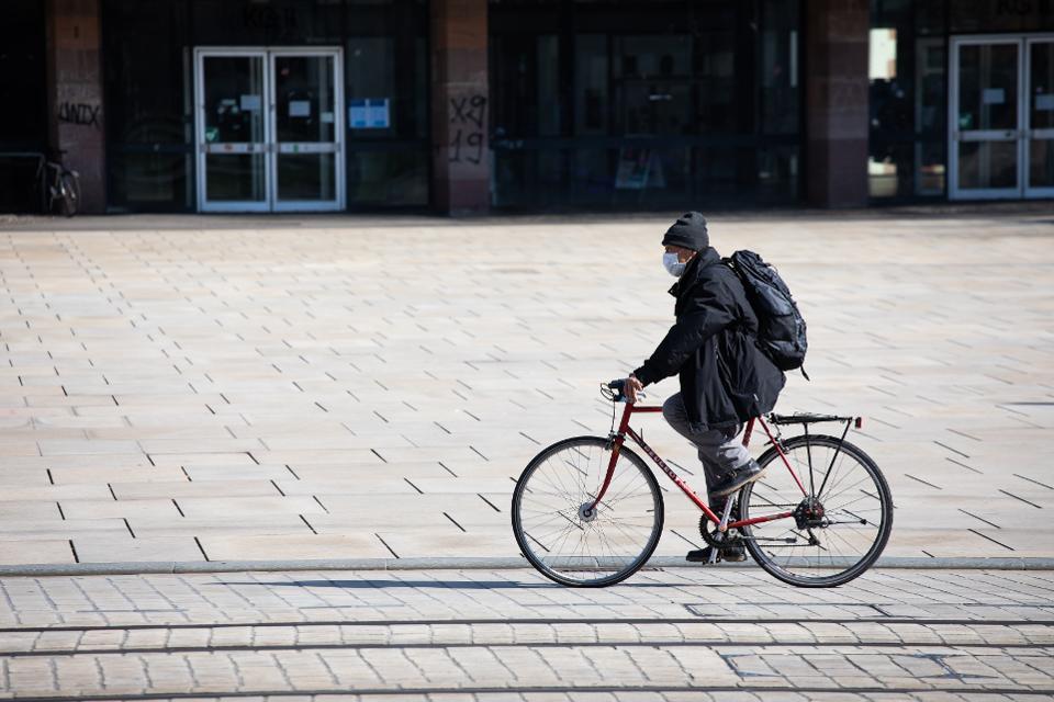 Велосипед против коронавируса