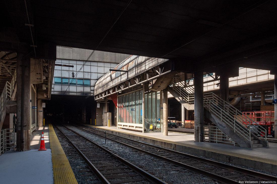 Вашингтон: красивый вокзал, хорошие велодорожки и заколоченные дома