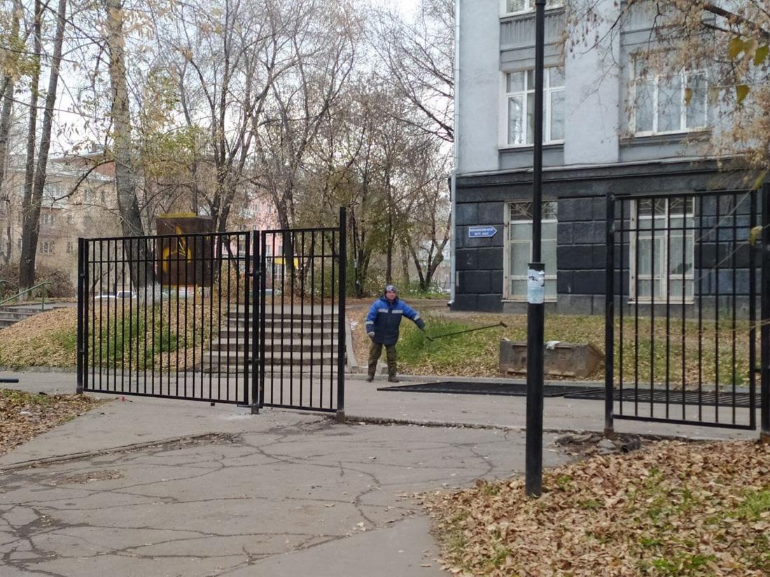 Забор от плебеев
