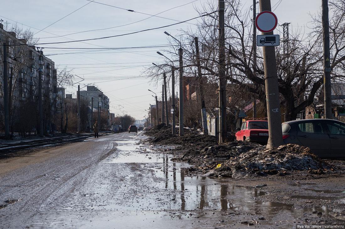 10 самых грязных городов весны