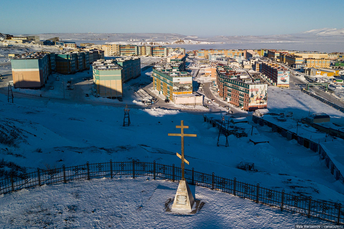 Анадырь: погребённая под снегом вотчина Абрамовича
