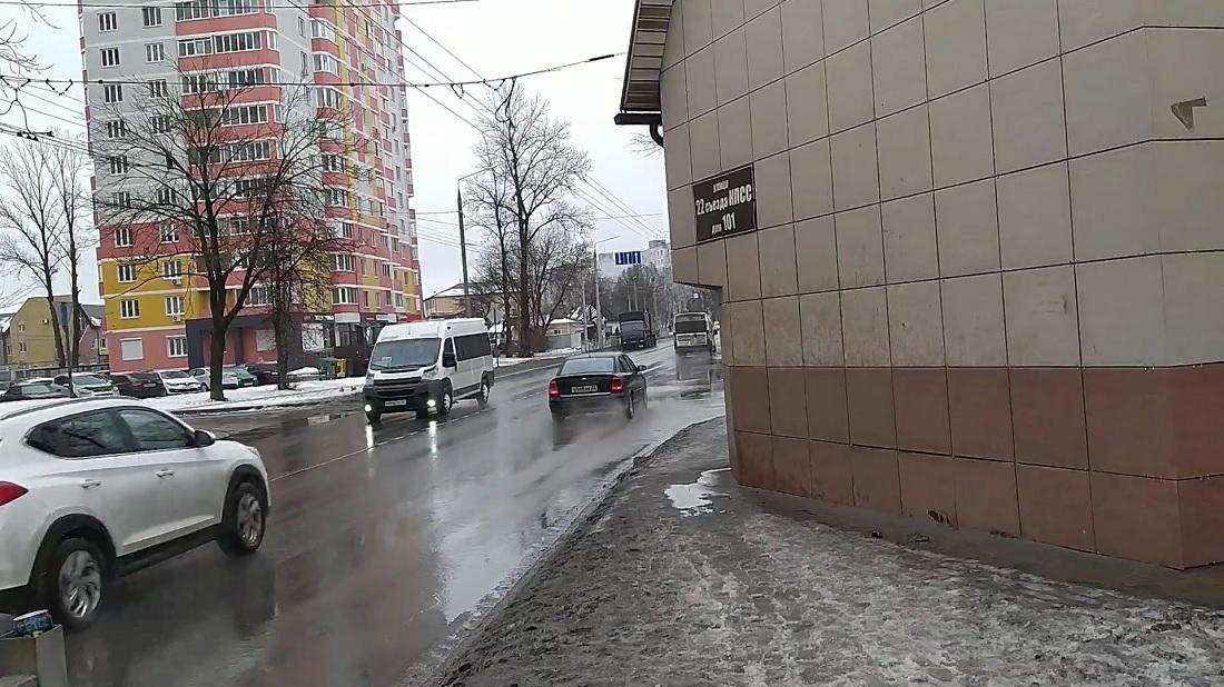 Самый стрёмный тротуар в России