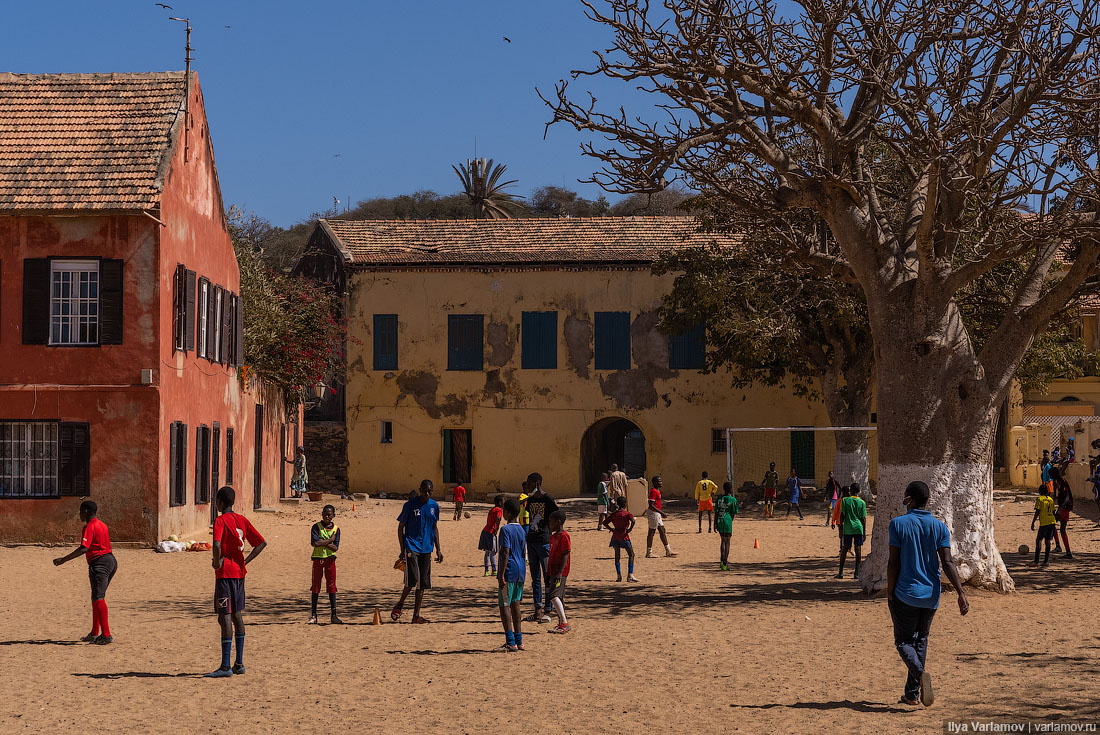 Горе, Сенегал: один из крупнейших средневековых центров работорговли