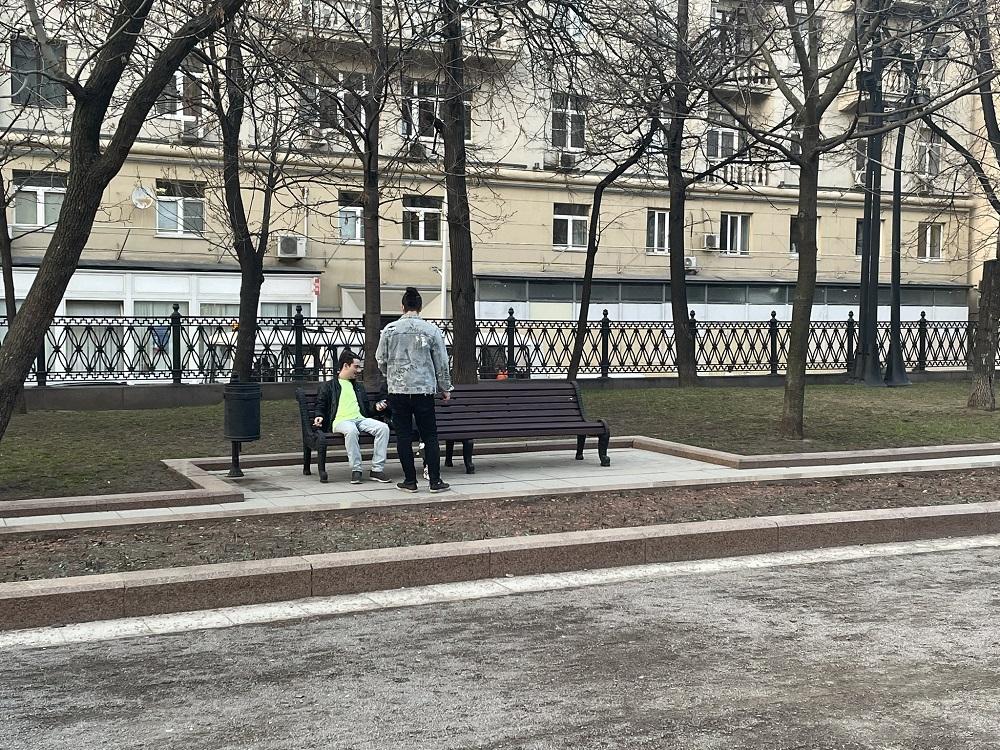 Вредители с краской захватили Москву