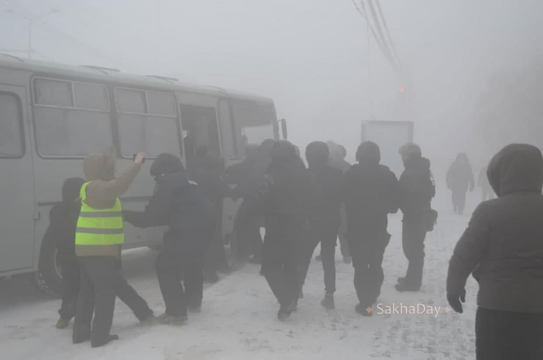 Как протестовала Россия 31 января