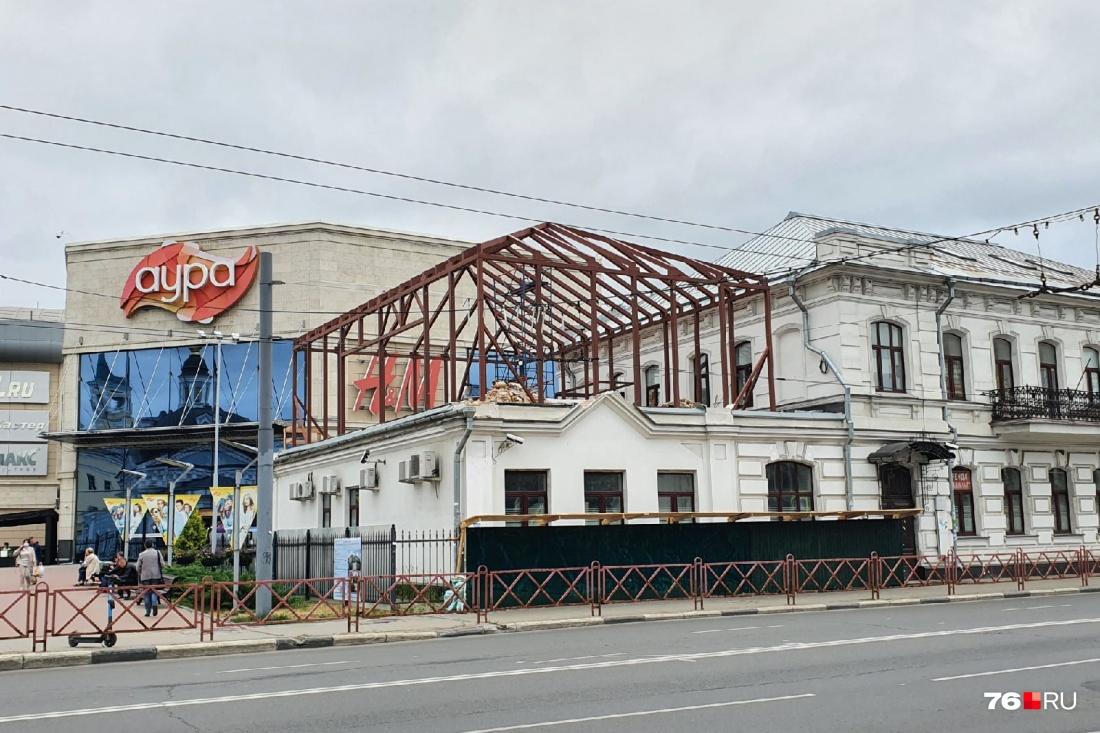 К чёрту историю – строим ресторан!