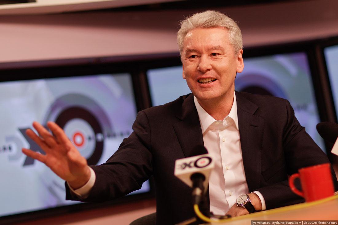 Собянин объявил, что будет баллотироваться в мэры Москвы