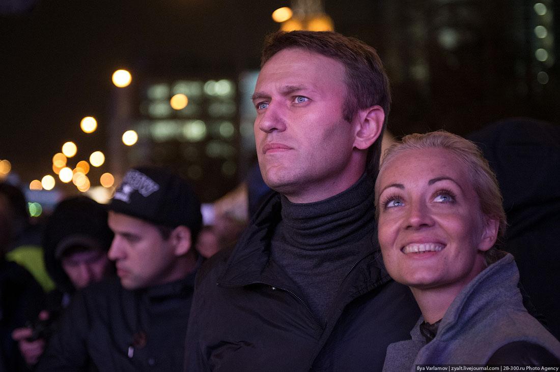 Акции вподдержку Алексея Навального. Онлайн
