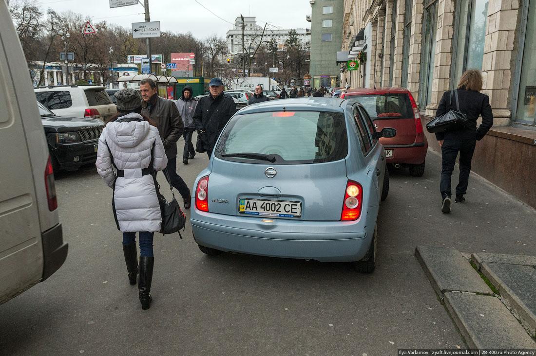 Дикие украинцы против европейских ценностей