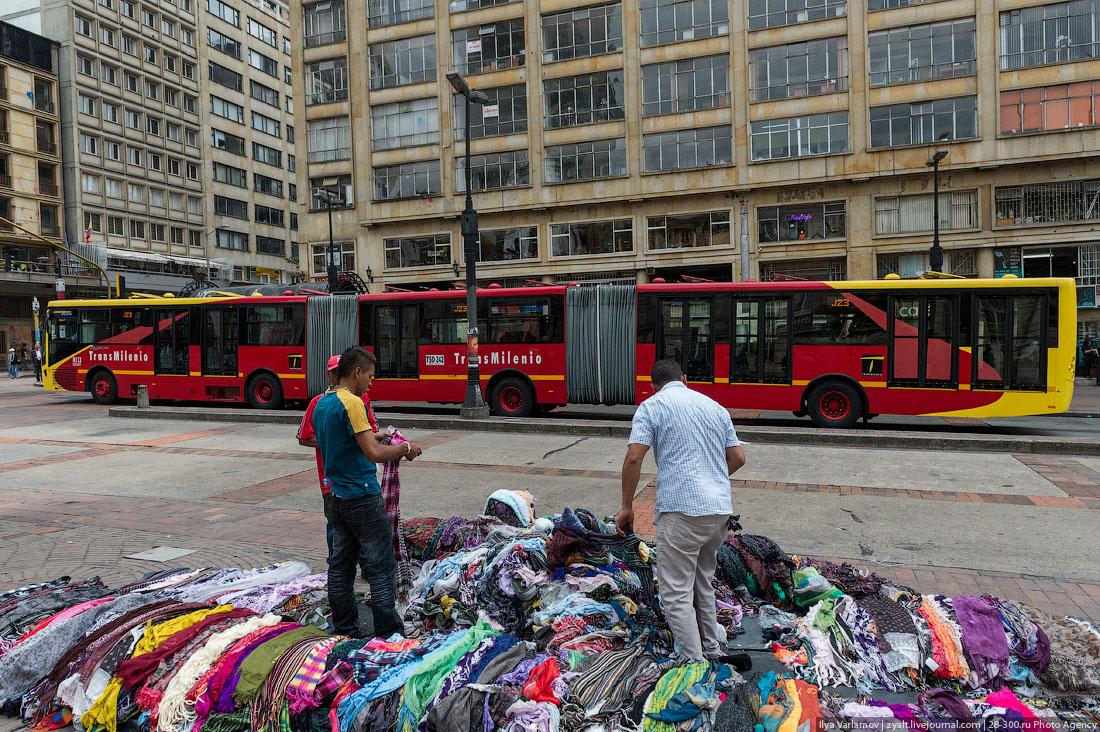 Транс миллениум скоростная автобусная система в колумбии