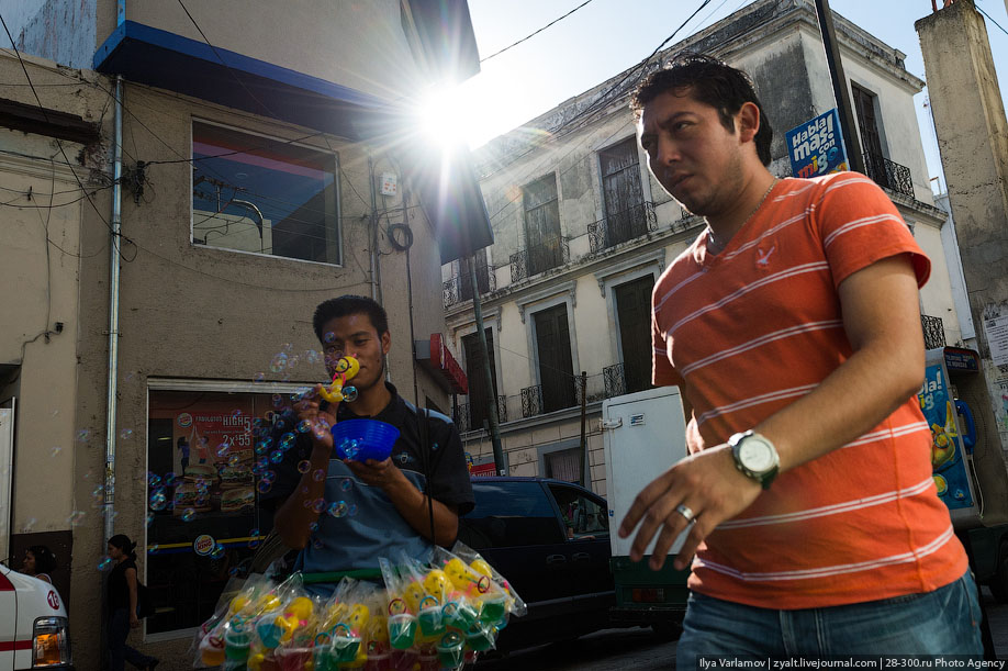 В Мексике мэра привязали к пикапу и протащили по городу, потому что он не построил дороги