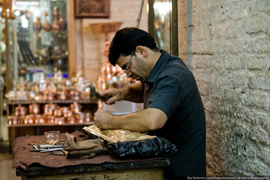 Иранская чеканка