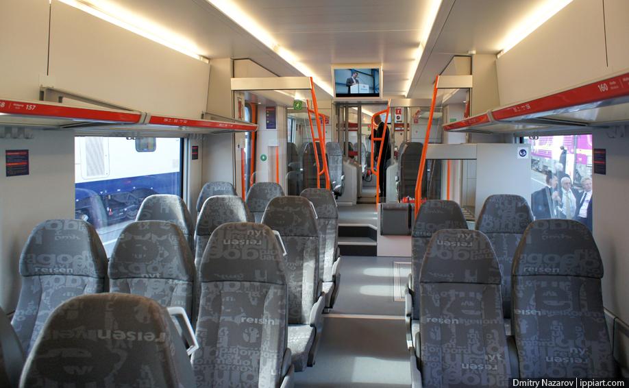 фото поезд сидячие места