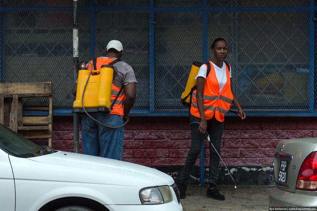 23 Тринидад и Тобаго и проститутки Арубы.