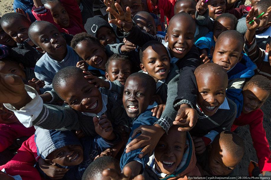 Лесото достопримечательности