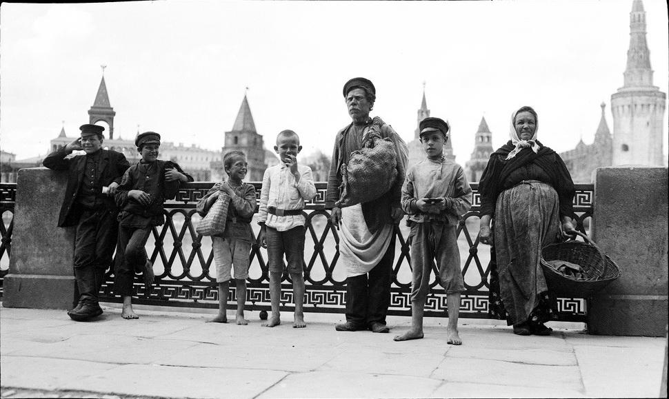 Москва 1909. Фотограф Мюррей Хоу