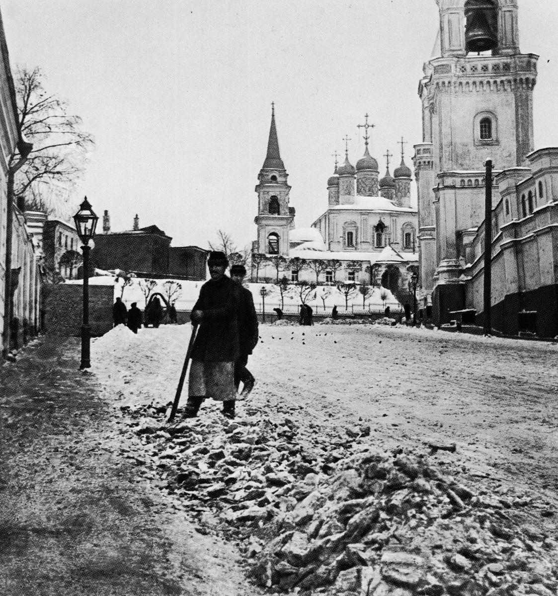 Старые фотки москвы