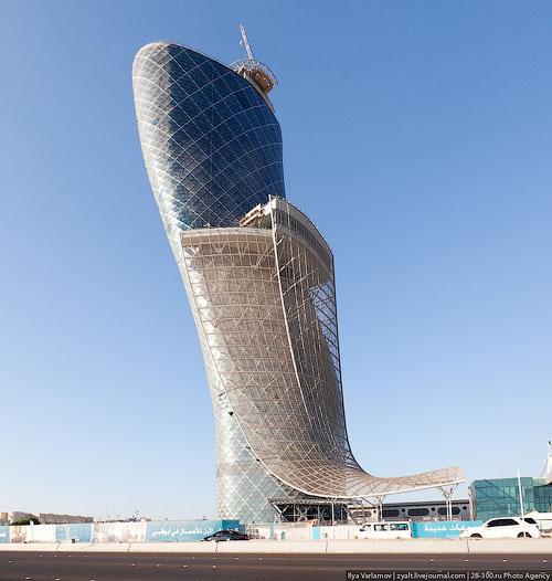 Эмираты - архитектура в картинках