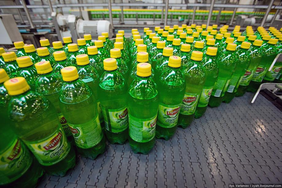Как производят Pepsi