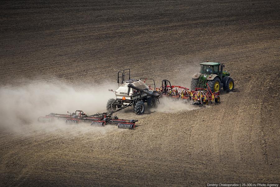 Аграрии Приморья высадили 400 гектаров зерновых культур