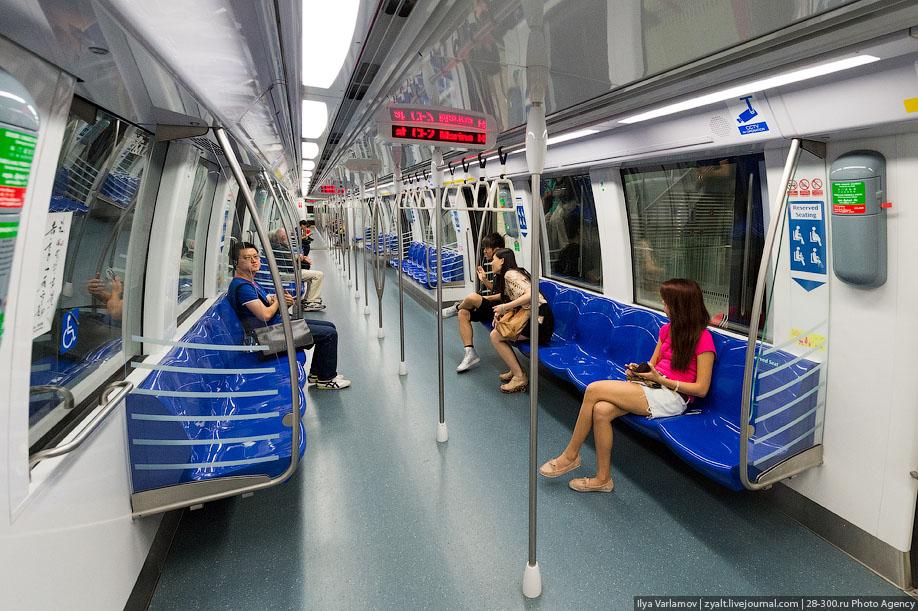 Как устроено метро в Сингапуре