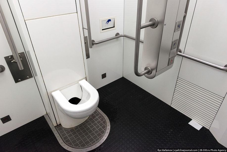 Городской туалет