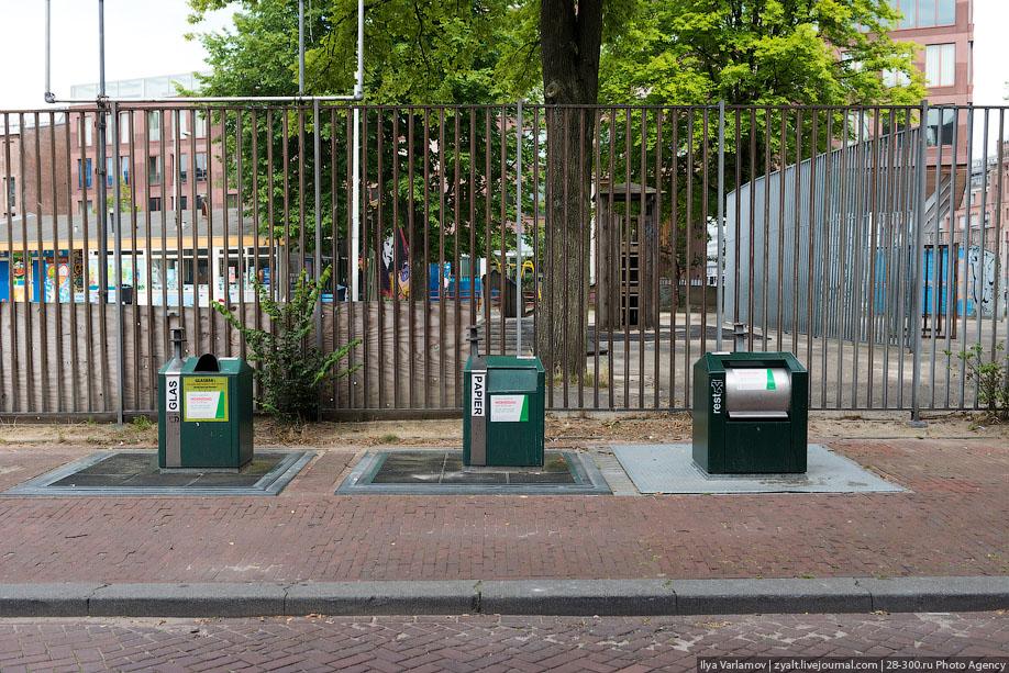 Как устроены системы подземного хранения мусора